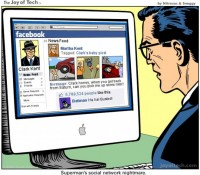 Facebook identity comic 2 - The Joy of Tech